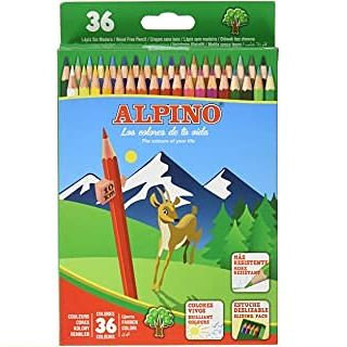 alpino lapices de colores