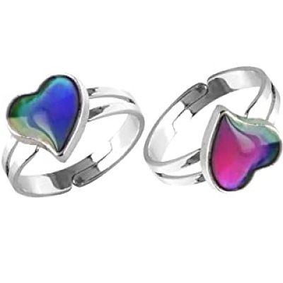 anillo que cambia de color