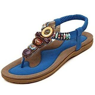 Sandalias de colores