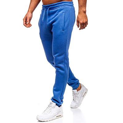 BOLF Hombre Pantalón De Chándal azul