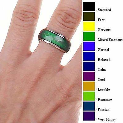 anillos que cambian de color