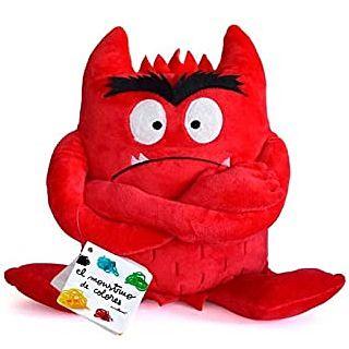 El monstruo de colores peluche rojo