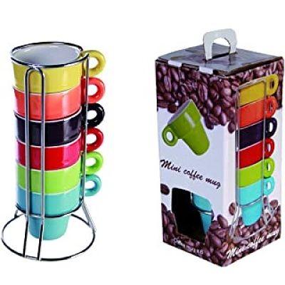 tazas de colores