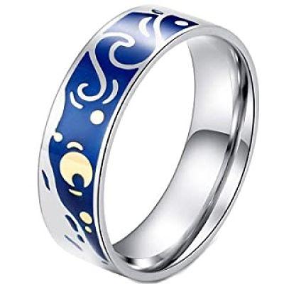 anillos de colores