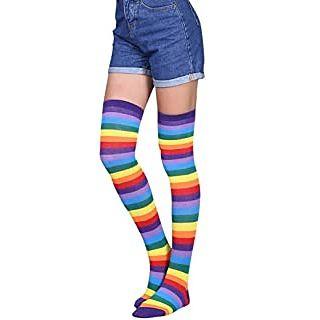 medias multicolor