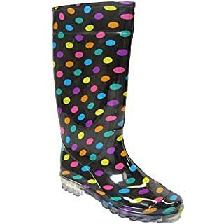 botas de agua de colores