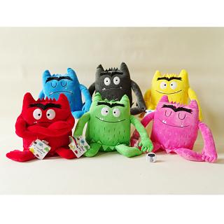 Los 6 monstruos de colores